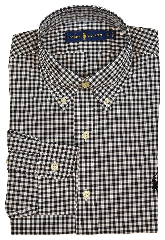 Polo Ralph Lauren Mens Long Sleeve Classic Fit Check Print Dress