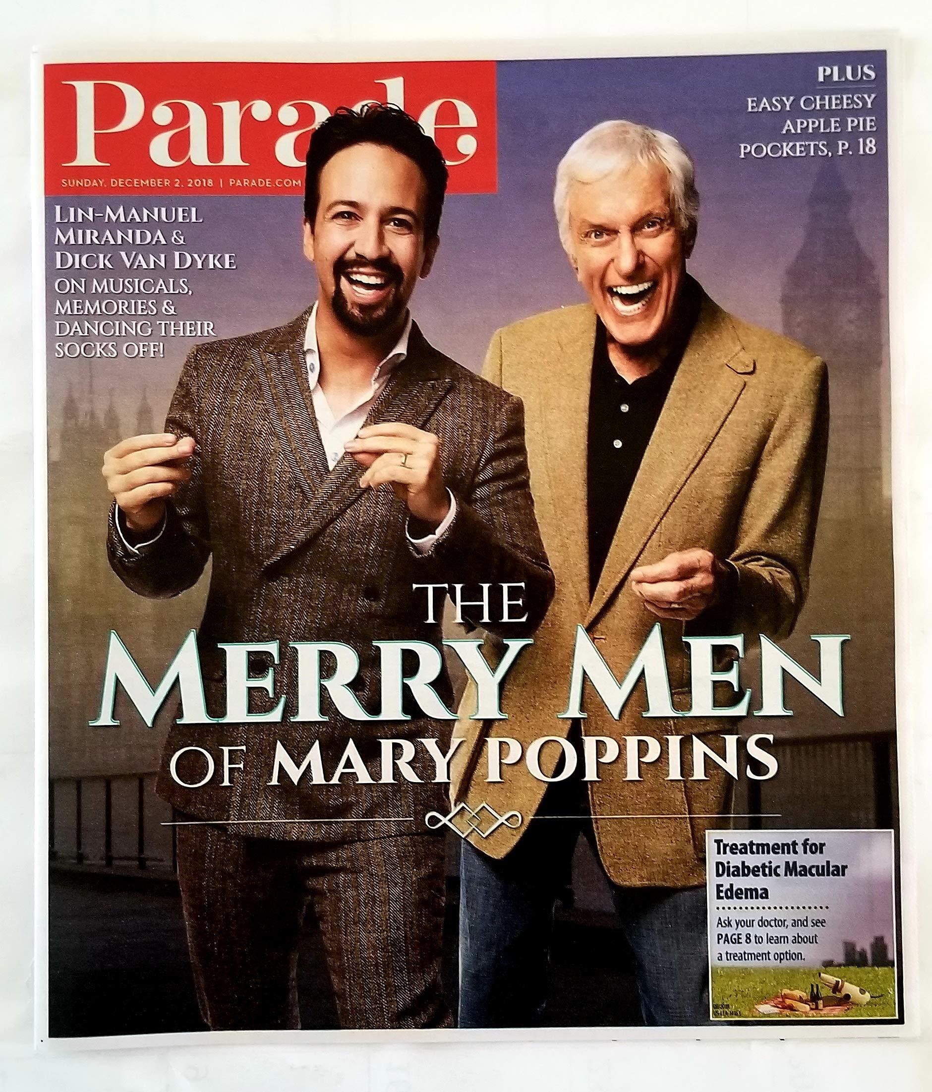 Parade Magazine - December 2, 2018 - The Merry Men of Mary