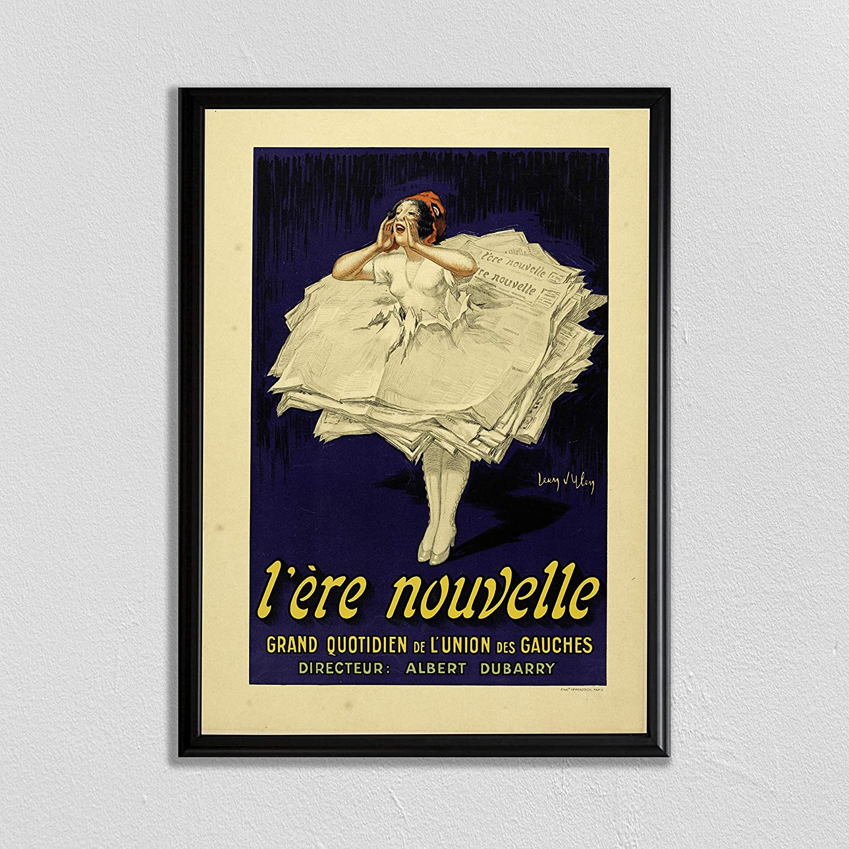 Flowershave357 Paris Wall Art Food and Drink Print Restaurant Decor Jean Dylen Vintage Home Decor Vintage Advertisement Retro Poster