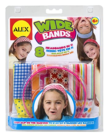 Amazon alex toys do it yourself wear wide bands headbands toys alex toys do it yourself wear wide bands headbands solutioingenieria Images