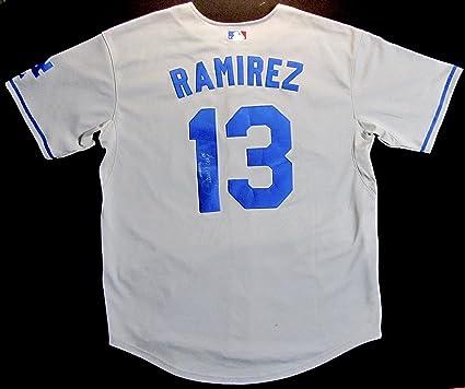 HANLEY RAMIREZ N.L. R.O.Y. 06 Autographed Hand SIGNED L.A. DODGERS JERSEY  w COA ed20490306d