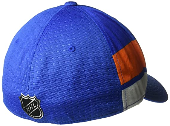 d8b94cec Amazon.com : adidas NHL New York Islanders Men's Pro Collection Draft Cap,  Large/X-Large, Royal : Sports & Outdoors