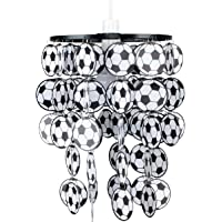 MiniSun - Boys Football Bedroom/Nursery Ceiling Pendant Light Shade