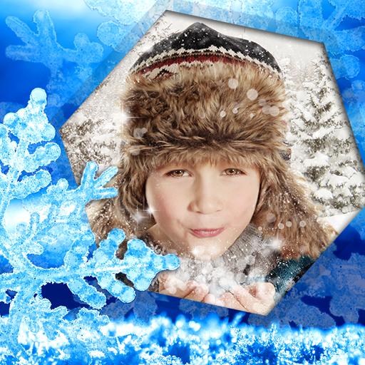 Free Holiday Photo Frames - Winter Photo Frames