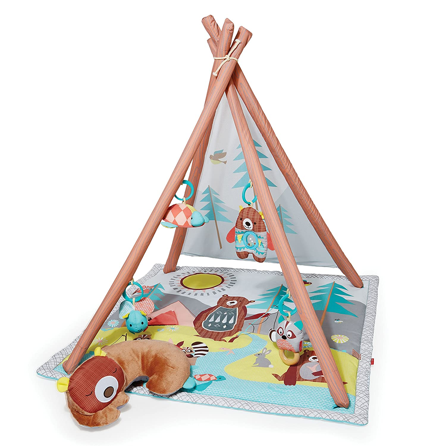 Skip Hop Baby Infant and Toddler Camping Cubs Activity Gym and Playmat, Multi 307900-CNSZP