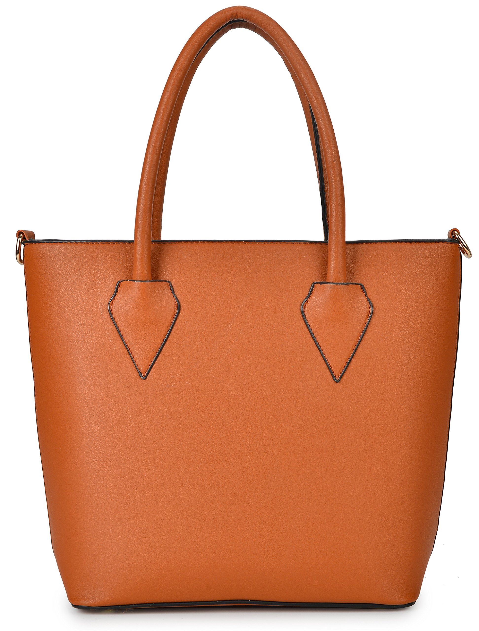 Women Handbag Purse Hobo Faux Leather Messenger Bag Clutch Satchel Bag 3 Piece Gift Set by KasPala (Image #4)