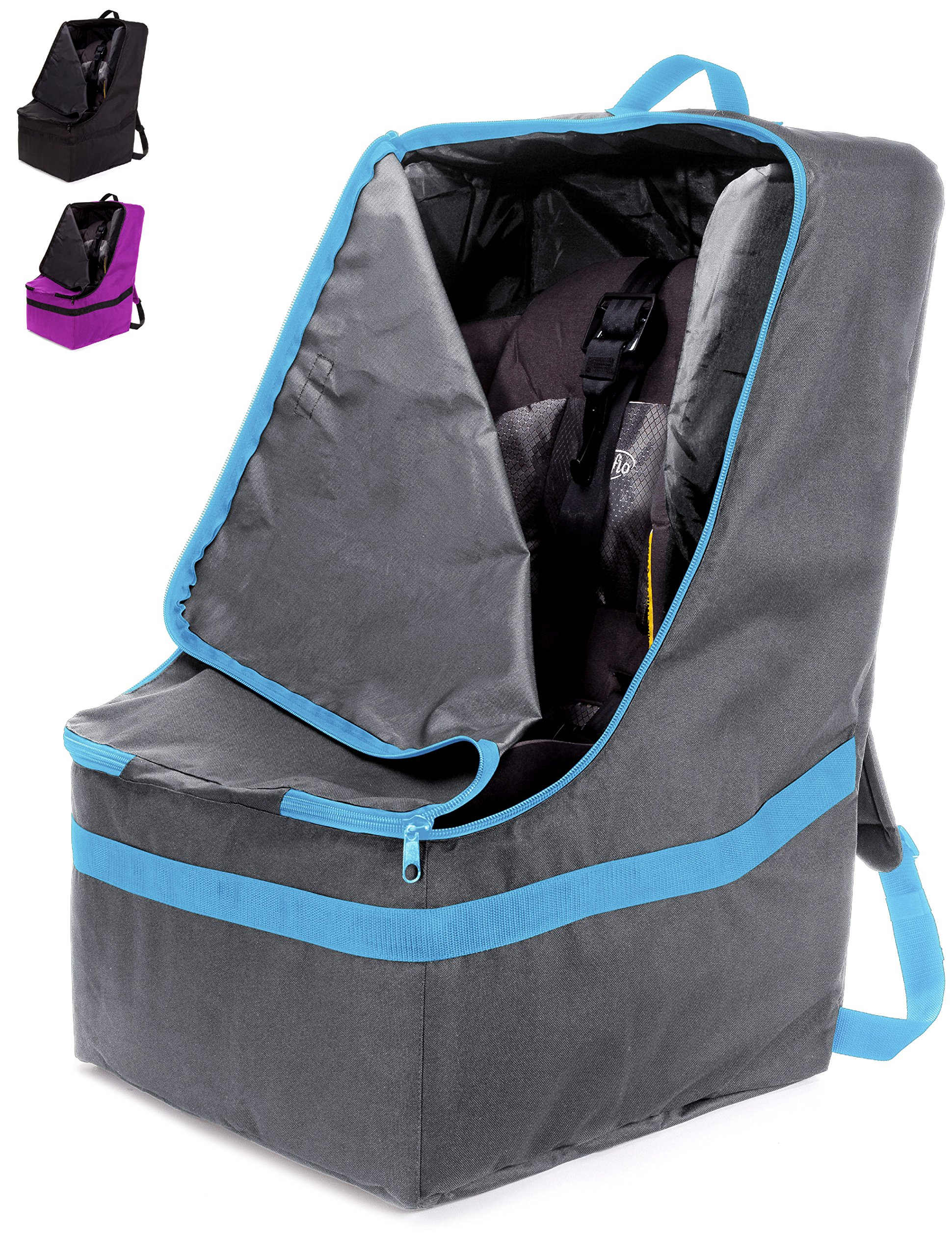 ZOHZO Car Seat Travel Bag — Adjustable, Padded Backpack for Car Seats — Car  Seat