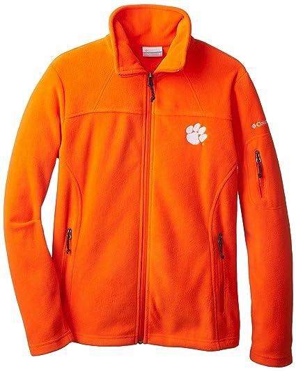 212b2fef2a15 Columbia NCAA Clemson Tigers Give and Go Collegiate Women s Full Zip Fleece  Jacket ( Spark Orange