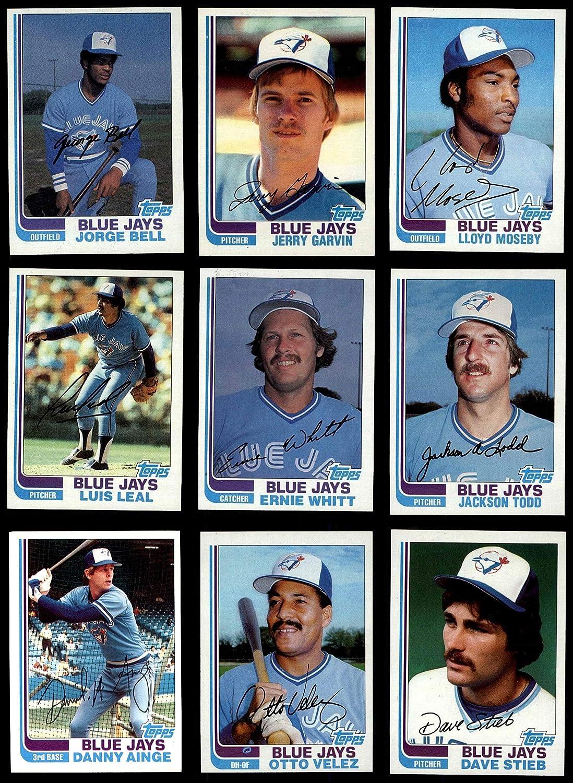 1982 Topps Toronto Blue Jays Team Set Toronto Blue Jays (Baseball Set) Dean's Cards 8 - NM/MT Blue Jays 91ZbnETc0rL