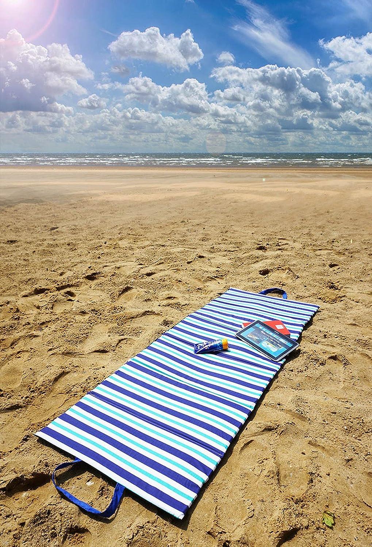 Ferocity Faltbare Strandmatte Liegematte mit Tragegriff Schaumstaff Strapazierf/ähig Decke Modell 061