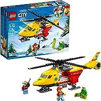 LEGO Juego de Construcción City Great Vehicles Helicóptero-Ambulancia (60179)