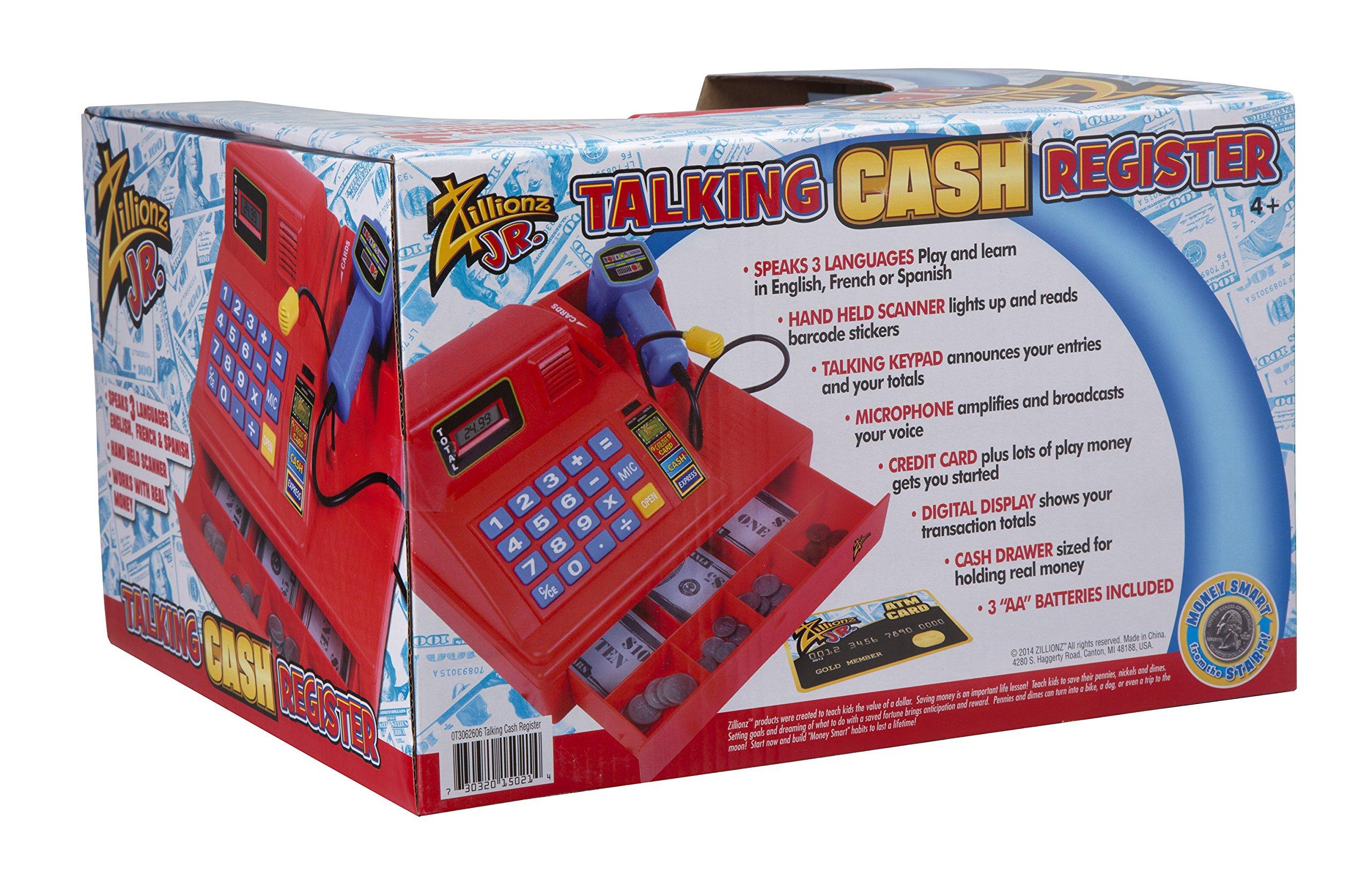 Zillionz Jr. Talking Cash Register by Zillionz (Image #2)