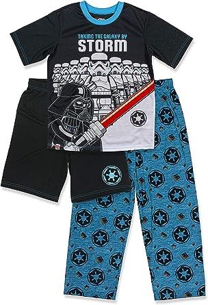 Star Wars Boys 3-Piece Pajama Set