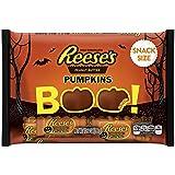 REESE'S Halloween Snack Size Peanut Butter Pumpkins, 10.2 Ounce