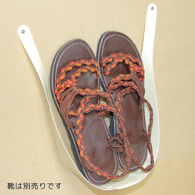 05dadf8f1f37 Amazon|靴かけホルダーU(4個セット) (アイボリー)|シューズラック オンライン通販