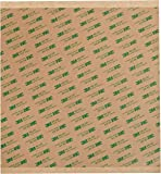 """3M 468MP Adhesive Transfer Tape, 12"""" squares (pack of 6)"""
