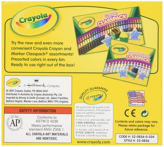 Amazon.com: Crayola Bulk Crayons (12 Count), Brown: Toys & Games
