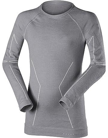 cac8e1e2cc065 FALKE Mädchen Wool-tech Longsleeved Shirt Kids Sportunterwäsche