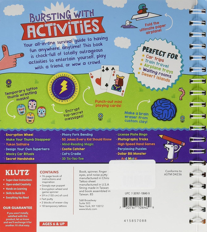 Klutz 101 Outrageously Fun Things to Do Kit NOTIB 810640