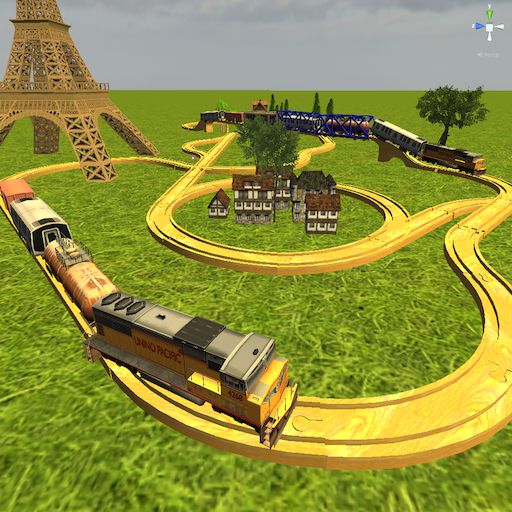 (Kids Advanced Train Construction)