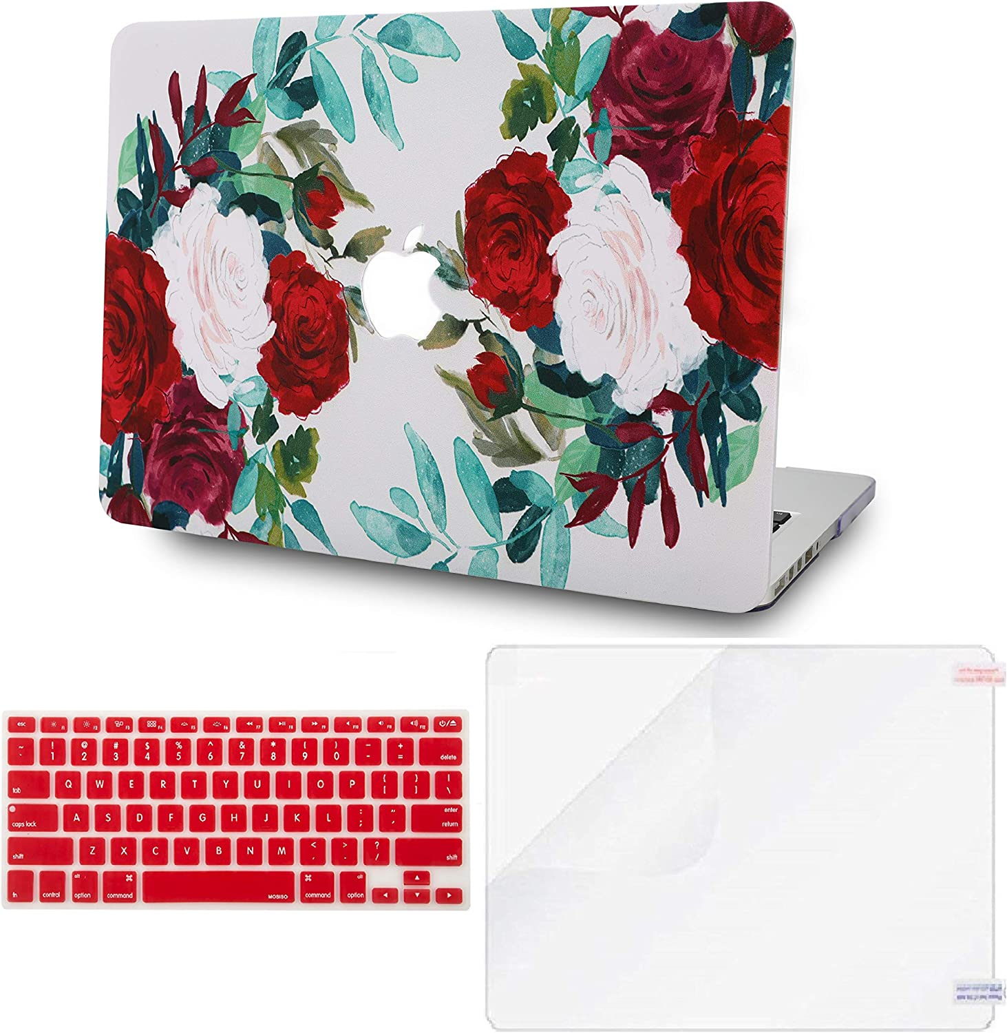 LuvCase 3 in 1 Laptop Case Compatible with Old MacBook Pro 13