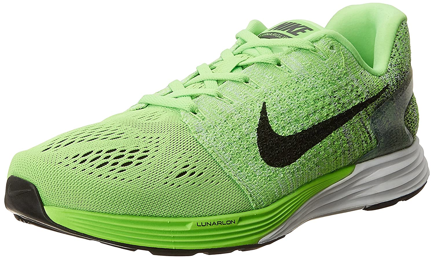 mago Catastrófico Poderoso  Buy Nike Men's Lunarglide 7 Green and Black Running Shoes - 7 UK/India (41  EU)(8 US) at Amazon.in
