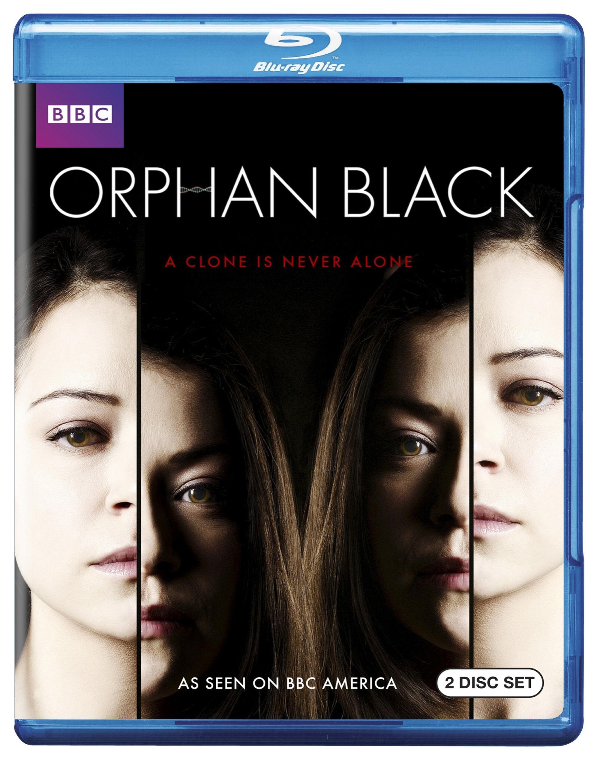 Blu-ray : Orphan Black: Season One (Full Frame, 2 Pack, , 2 Disc)