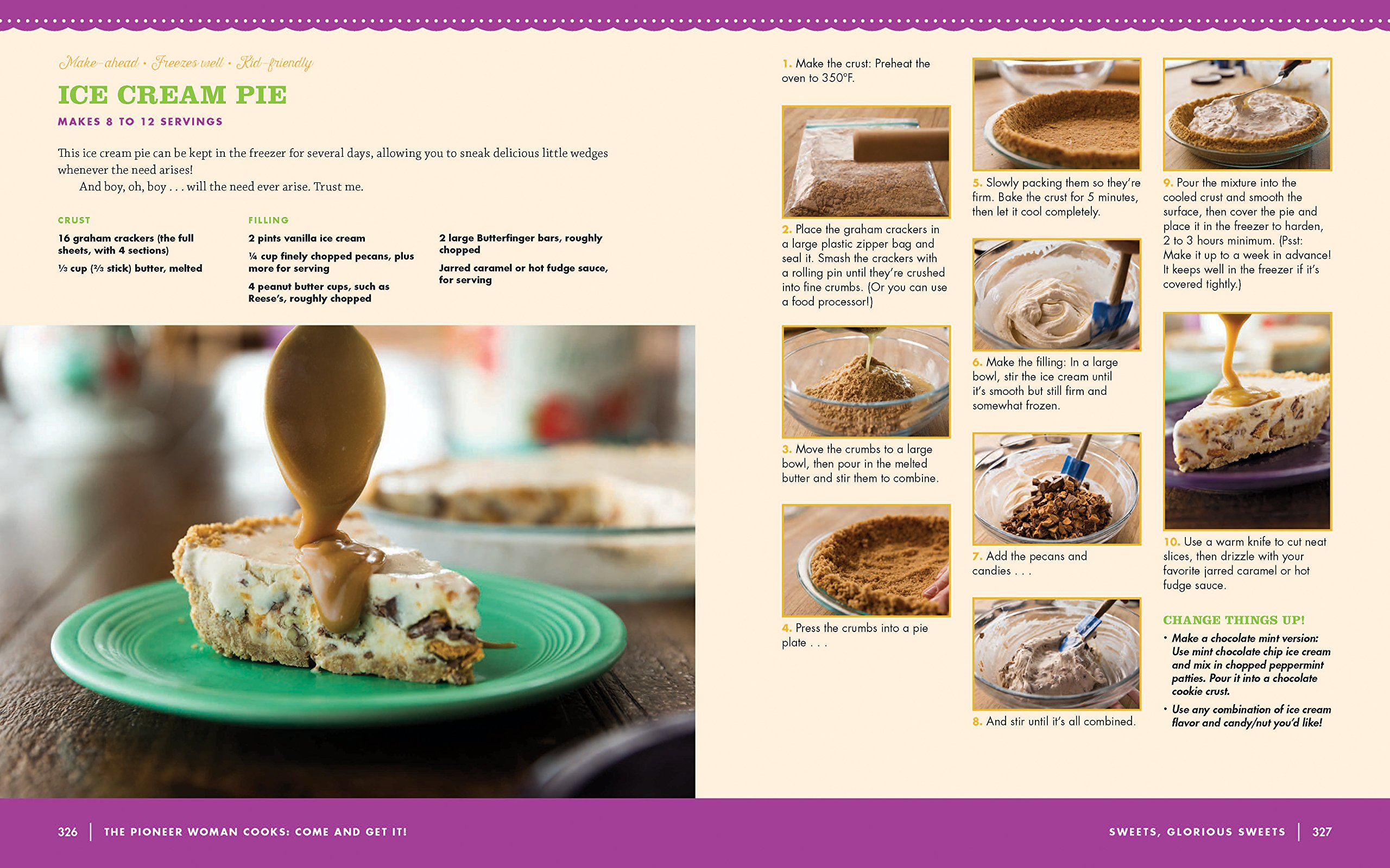 The Pioneer Woman Cooks: Come and Get It!: Simple, Scrumptious Recipes for  Crazy Busy Lives: Ree Drummond: 9780062225269: Amazon.com: Books