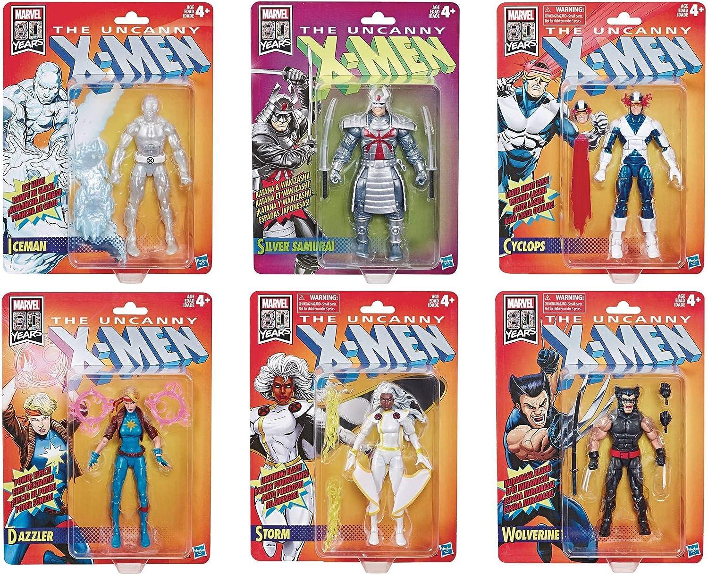 """Iceman *IN STOCK* Marvel Legends 6/"""" X-Men Retro Wave 1"""