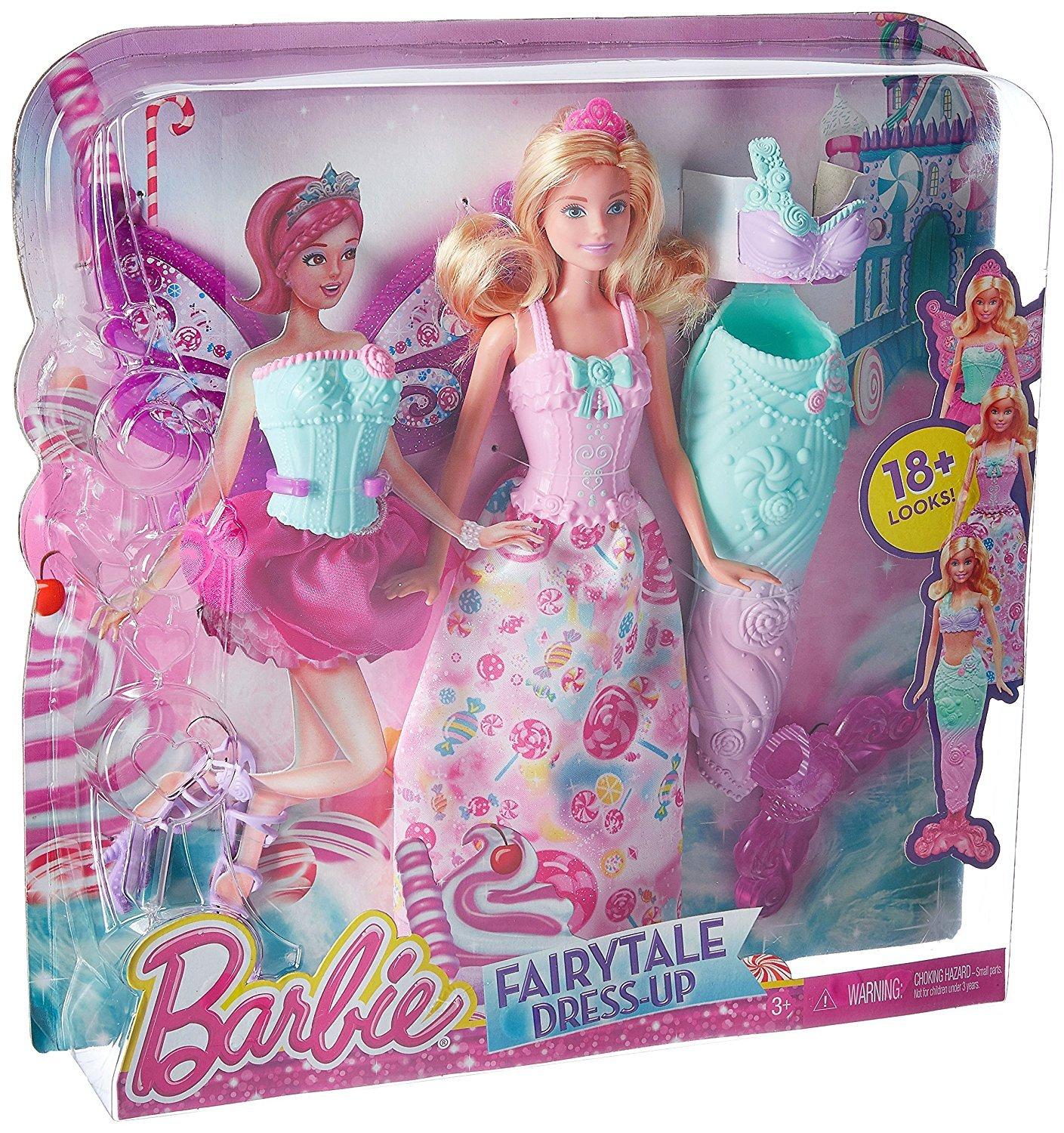 Amazon Barbie Dreamtopia Fairytale Dress Up Doll Exclusive Toys Games