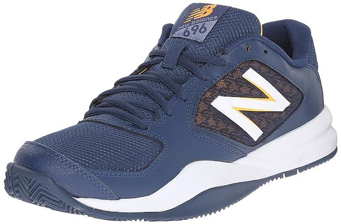 new concept 93940 19e71 Amazon.com   New Balance Men s 696v2 Lightweight Tennis Shoe   Tennis    Racquet Sports