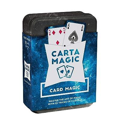 Cartamundi Carta Magic 25 Fabulous Card Tricks Set: Toys & Games