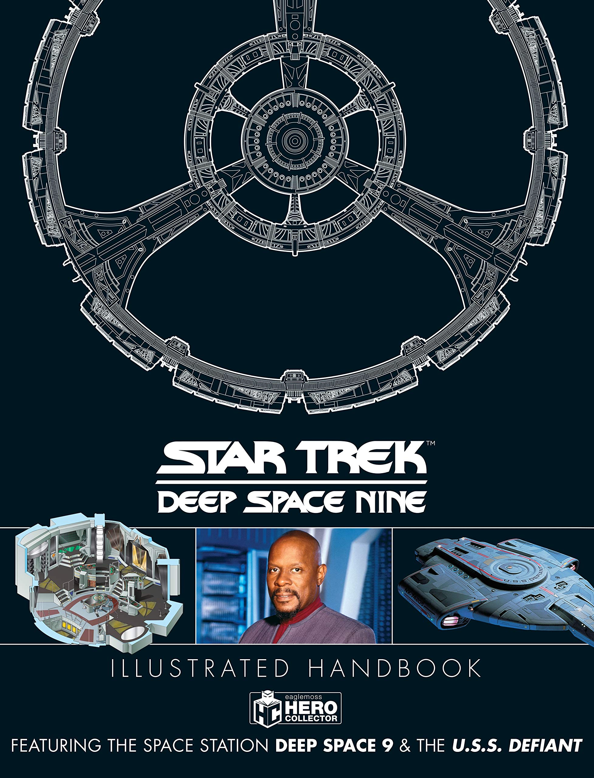 Star Trek: Deep Space 9 & The U.S.S Defiant Illustrated Handbook (Star Trek - Deep Space Nine)