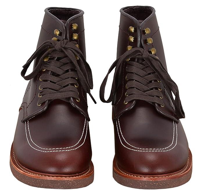 Indy Boots Indiana Jones Botas de Tobillo de Cuero Marrón Oscuro Inspirado en la Película: Amazon.es: Zapatos y complementos