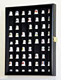 59 Opening Thimble/Small Miniature Display Case Cabinet Holder Wall Rack 98% UV Lockable
