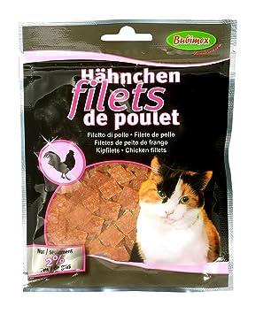 Bubimex Redes de Pollo Friandise para Gatos 50 g - Juego de 4: Amazon.es: Productos para mascotas