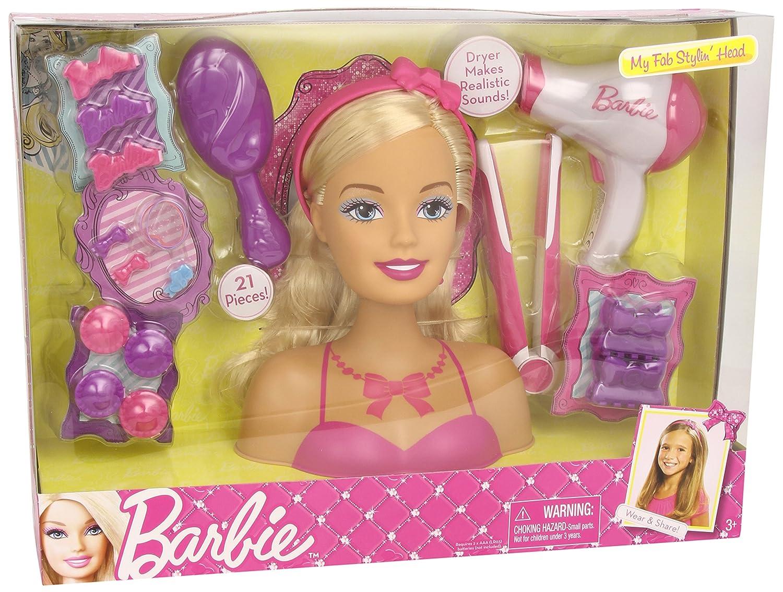 Barbie - Maniquí para peinar y maquillar (Trends Uk 83680): Amazon.es: Juguetes y juegos