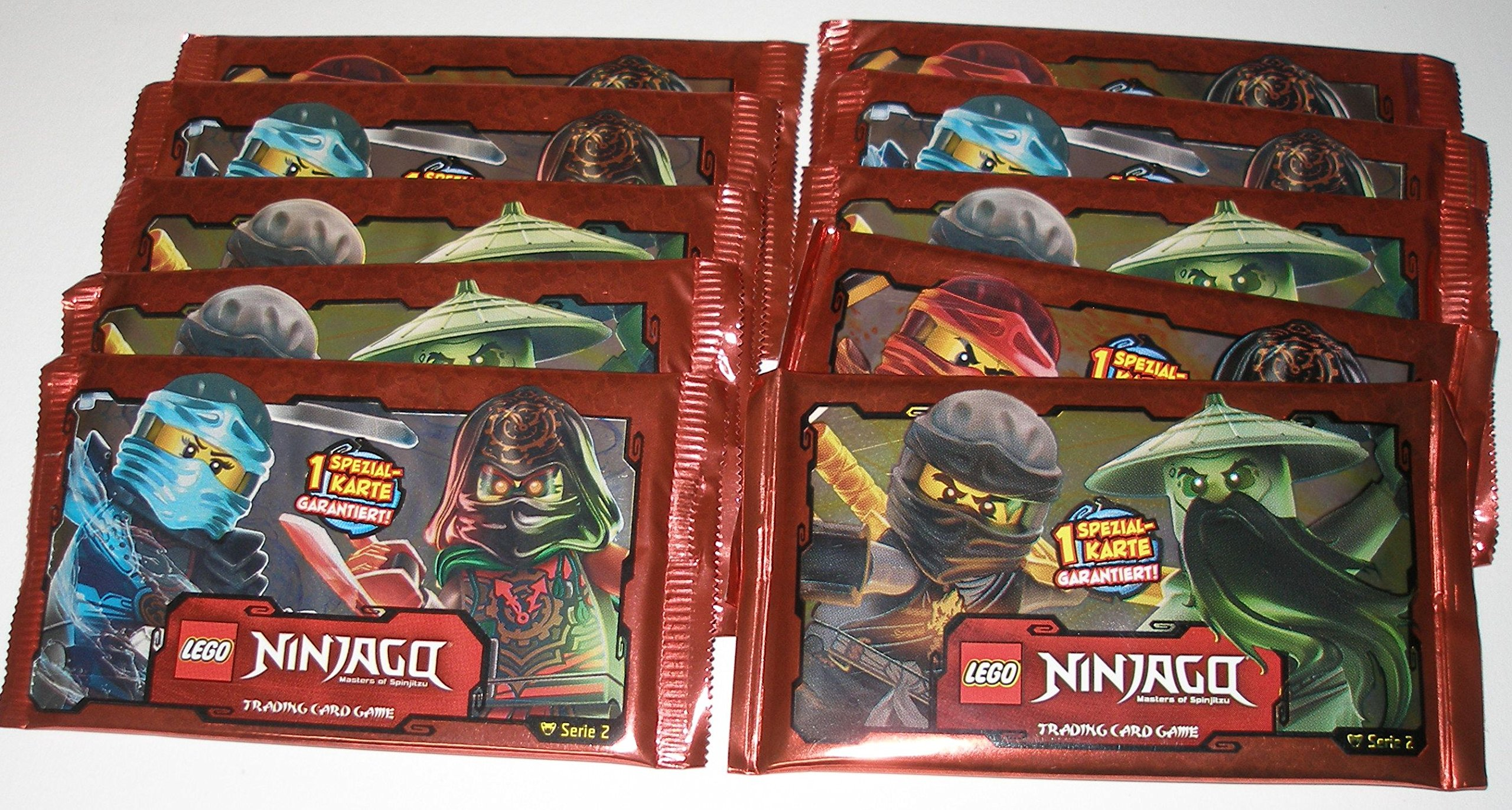 LEGO Booster Ninjago Series 2 Cards Pack of 10 Pack of 5 Cards