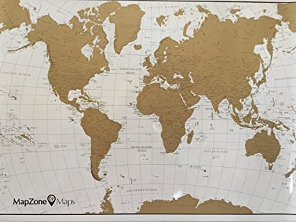 MapZone Maps - Scratch off World Travel Map - White and Gold with USA on metallic map, diamond map, old west map, blue china map, london's map, black map, true map, quartz crystal map, around the world map, china bubble map, blue ocean map, tin ore map, classic map, crazy world map, gilgal map, tin deposits map, iron deposits map, iron mining map, natural earth map, original map,