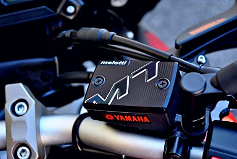 Couvercle Reservoir Frein MELOTTI RACING pour YAMAHA MT-07 MT-09 Tracer 900 ABS