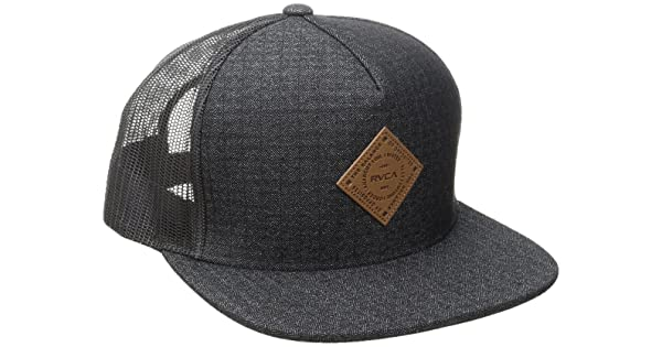 69e3e0dffff RVCA Men s Finley Trucker Hat