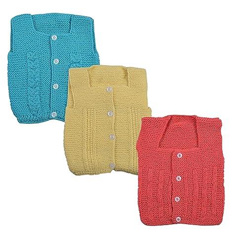 bb3a3281f DCS New Born Baby Sweaters Cap and Socks Woolen Set 0 6 Months Dark ...