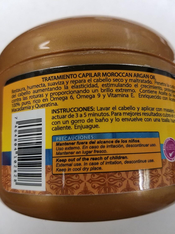 Silicon Mix aceite de argán marroquí Tratamiento para cabello: Amazon.es: Belleza