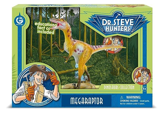 1 opinioni per Dr. Steve Hunters CL1574K- Collezione dei Dinosauri: Modello Megaraptor