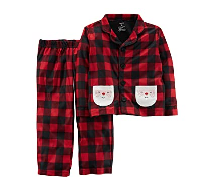 9c6396df844d Amazon.com  Carter s Boys and Girls 2T-5T Christmas Pajamas  Clothing