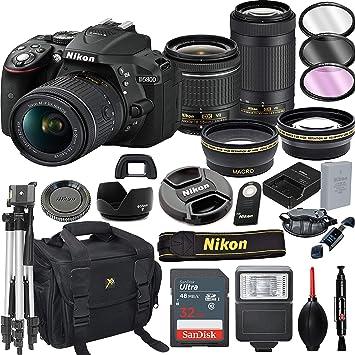 Amazon.com: Nikon D5300 - Cámara réflex digital con lentes ...