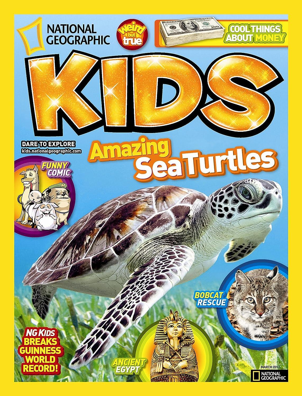 National Geographic Kids Print Magazine. Nondon green