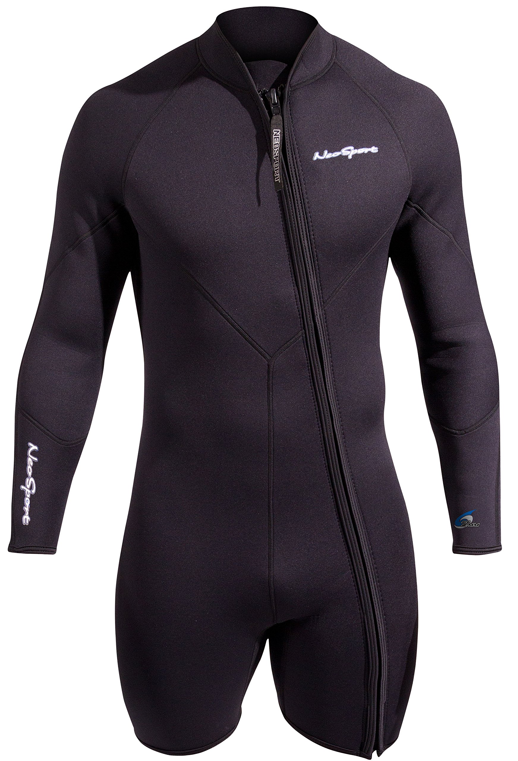 NeoSport Men's Premium Neoprene 7mm Waterman Wetsuit Jacket, Small by Neo-Sport