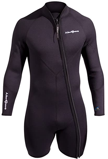 NeoSport Mens Premium Neoprene 7mm Waterman Wetsuit Jacket