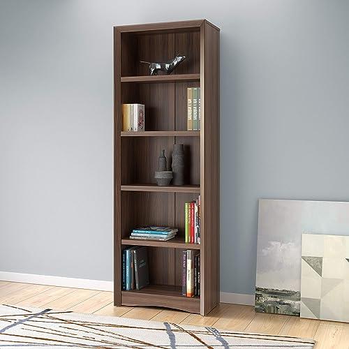 Deal of the week: CorLiving Quadra 5 Shelf Faux Wood Grain Bookcase